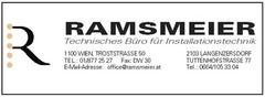 Ramsmeier-Technisches Büro für Installationstechnik