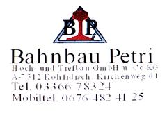 Bahnbau Petri